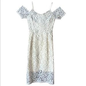 NWT Romeo + Juliet Couture White Lace Dress